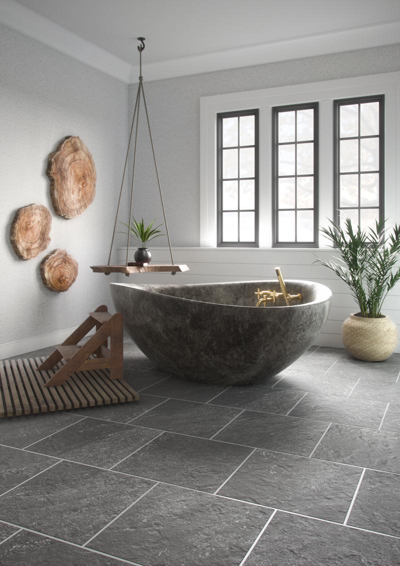 Earthen Luxury Bathroom